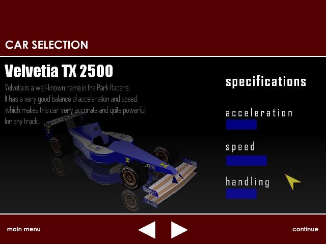 Game Maker Games Park Racer 3d